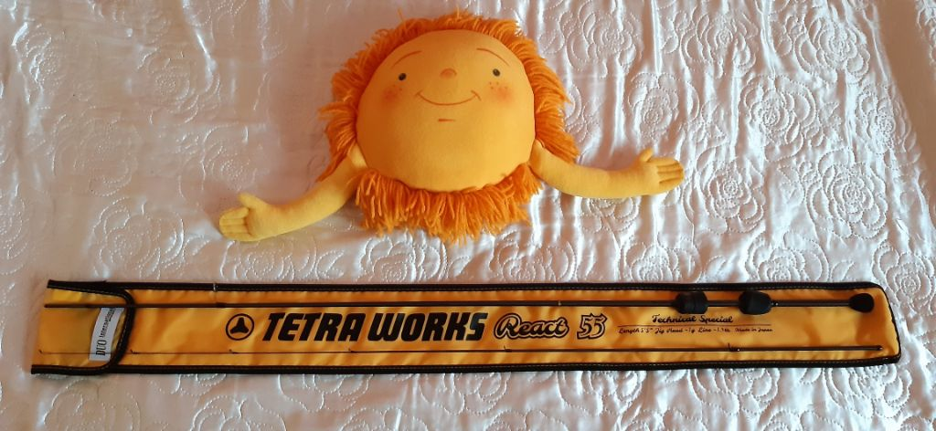 Въдица Tetra Works React 55